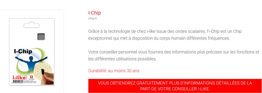 I-Chip puce pour les personnes sensible à l'électro-smog