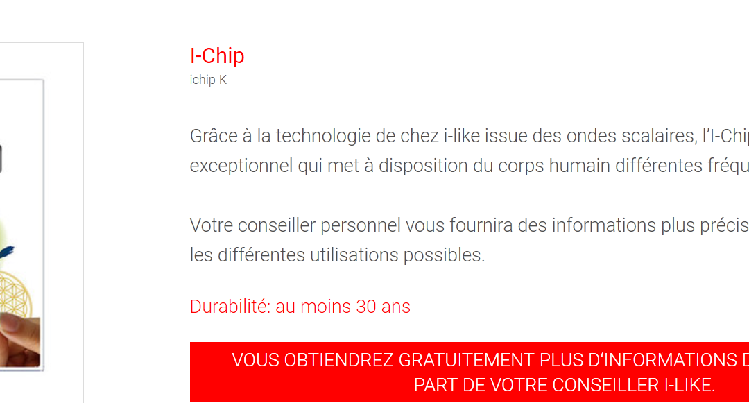 Témoignage I-Chip